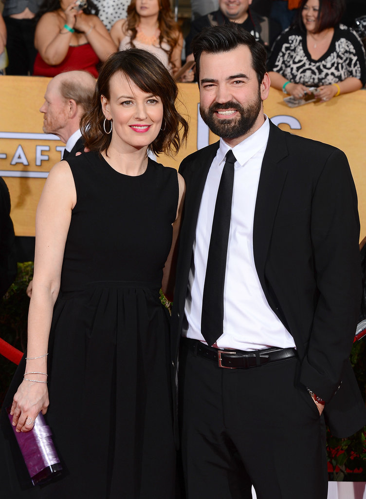 Ron Livingston hit the red carpet with his wife, Rosemarie DeWitt.
