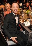 Aaron Paul looked amazing.