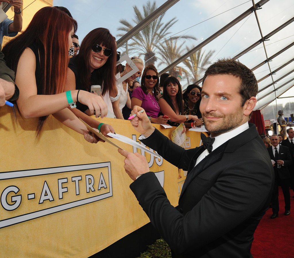 Bradley Cooper's Awkward Crotch Hug Can Be Explained