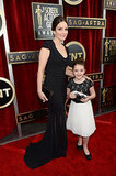 Tina Fey's 8-year old daughter, Alice, accompanied her to the SAG Awards.