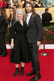 Jared Leto's beautiful mother, Constance, served as his date to the SAG Awards. See the sweet things the actor had to say about his mom at the Oscars Nominee Luncheon recently.