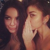 Modern Family's onscreen sisters Ariel Winter and Sarah Hyland swapped secrets. Source: Instagram user arielwinter