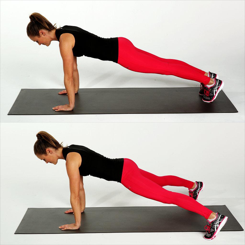 Core: Plank Jacks