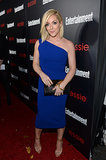 Jane Krakowski wore a gorgeous shade of blue.