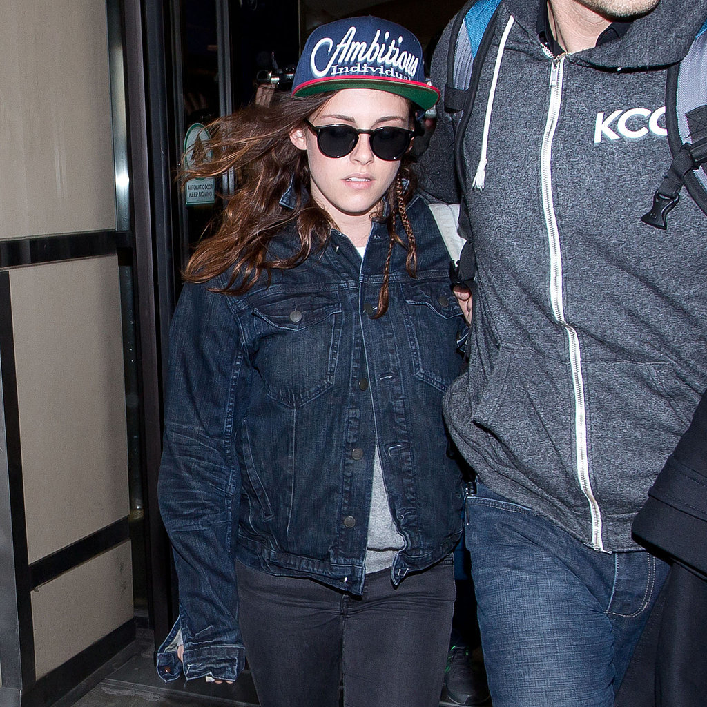 Kristen Stewart at LAX After the Sundance Film Festival