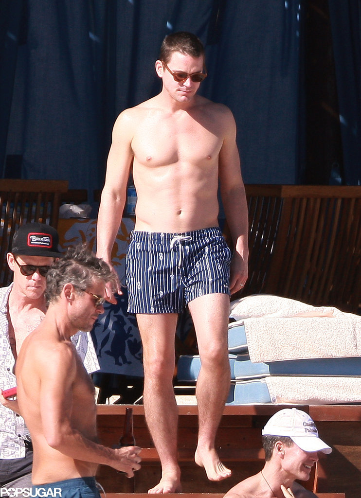 Matt Bomer put his toned body on display.