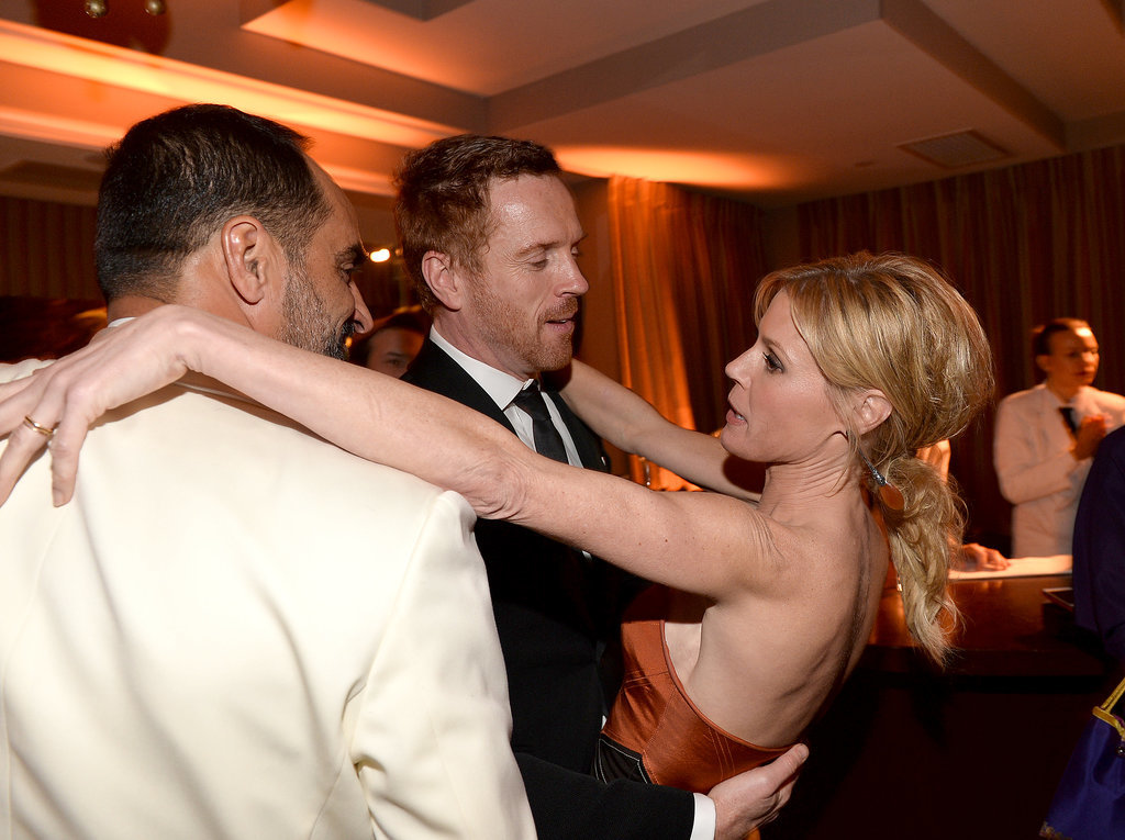 Julie Bowen cozied up to Navid Negahban and Damian Lewis.