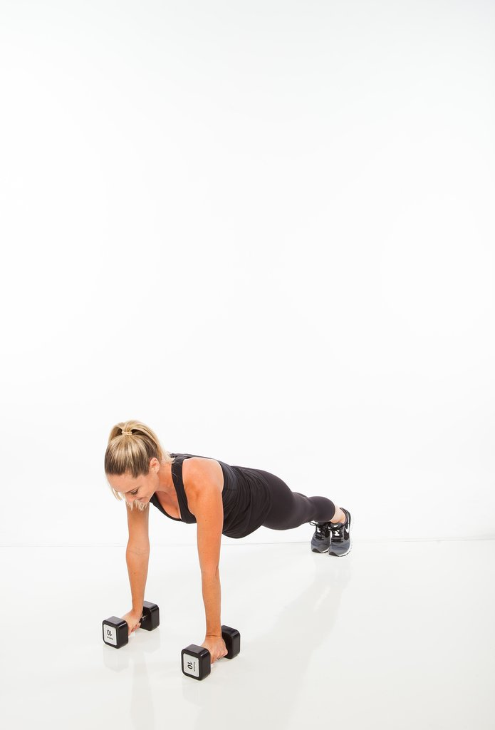 Burpee Bent-Over Row