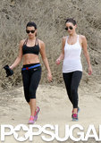 Lea Michele Shows Off Her Sporty Side