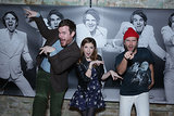 Anna Kendrick and Mark Webber had fun with Happy Christmas director Joe Swanberg at ChefDance on Sunday.