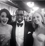 When Downton met Diddy. Source: Instagram user theladydockers