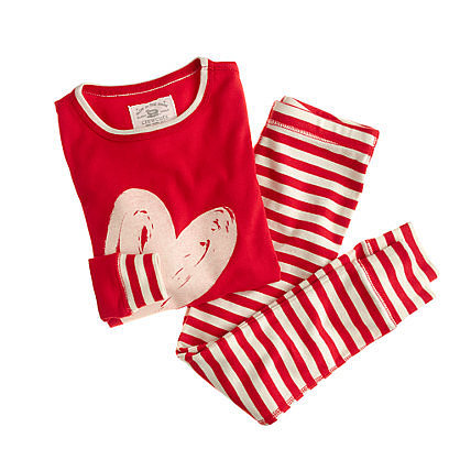 Crewcuts Heart and Stripe Sleep Set