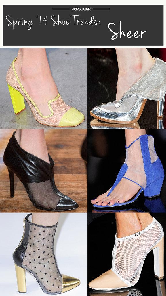 Spring Shoe Trend #2: Sheer