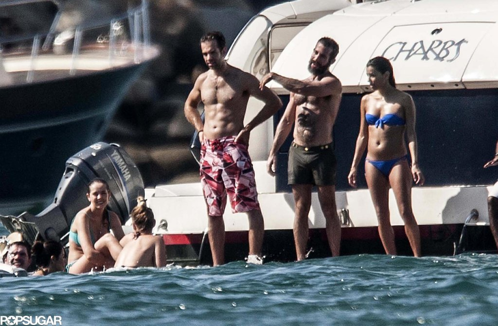 Eva and her friends jumped from their yacht.