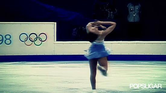 Then came the long program. Michelle skated like a goddess.