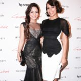 Here's What Vanessa Hudgens and Rosario Dawson Wear to the Cinema