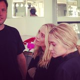 The Olsen Twins and Mark Townsend
