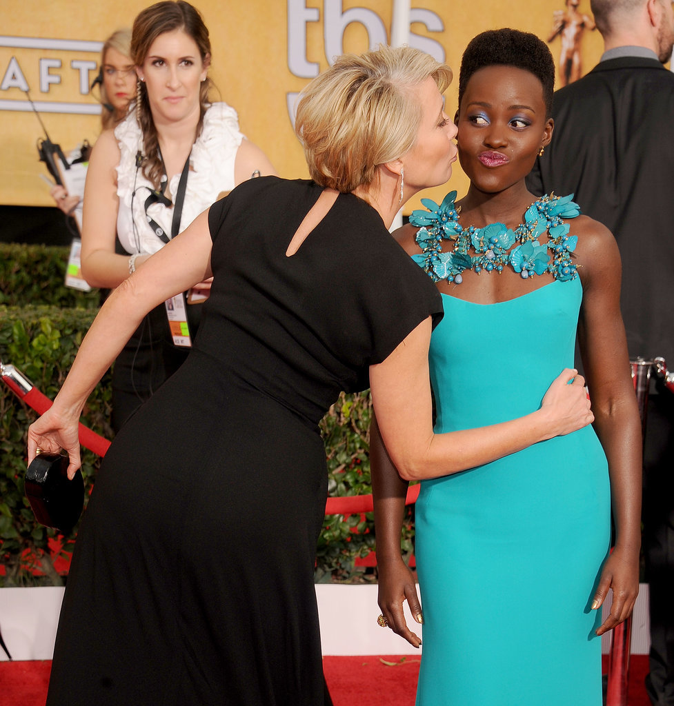 She Made Emma Thompson Lean in at the SAG Awards
