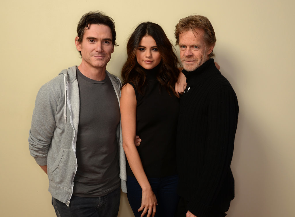 Rudderless stars Billy Crudup, Selena Gomez, and William H. Macy got close on Tuesday.
