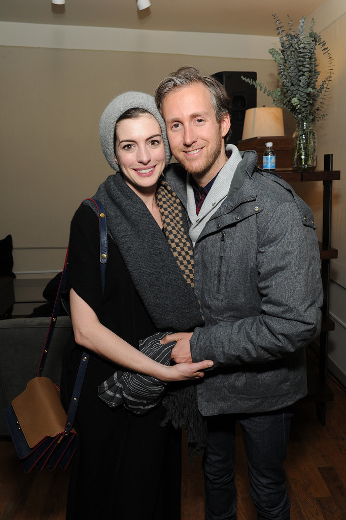 Anne Hathaway and her husband, Adam Shulman, were adorable again on Tuesday.