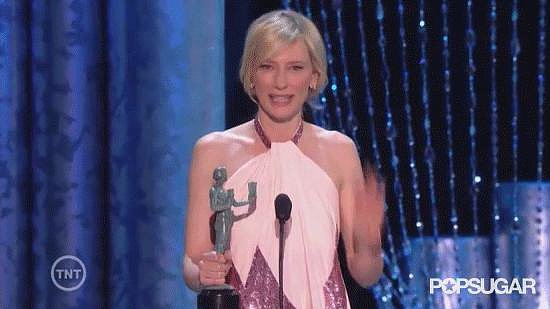 Cate Blanchett Asks For a SAGs Extension After Matthew McConaughey Rambles About Neptune