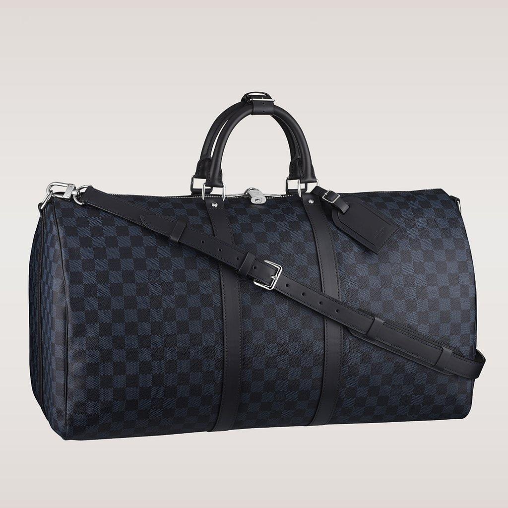 Louis Vuitton Damier Cobalt Duffle