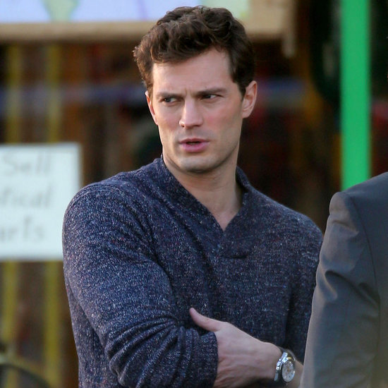 Flashback to All the Sexy Pictures From the Fifty Shades of Grey Set