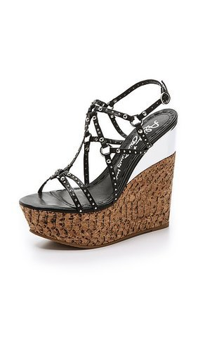 alice + olivia Shayla Wedge Sandals
