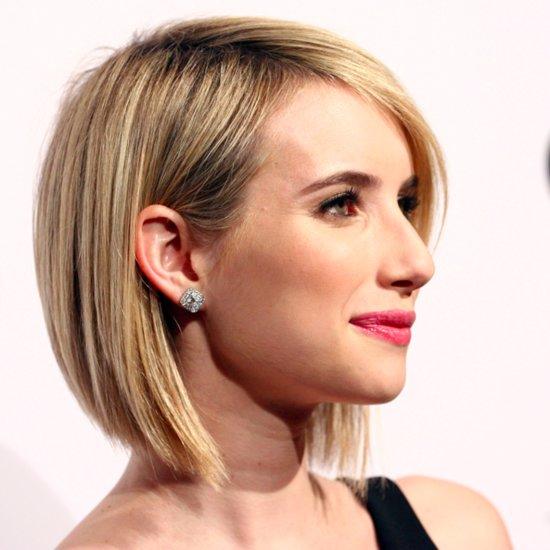 Emma Roberts Cut Her Hair Into a Bob