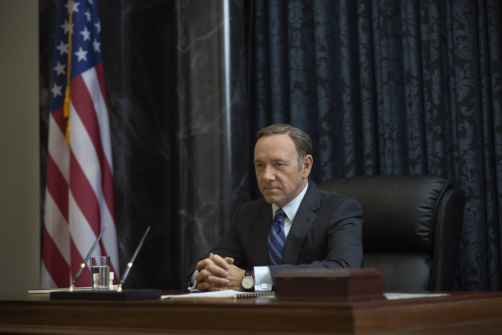 Kevin Spacey returns as Frank Underwood on House of Cards. Source: Netflix
