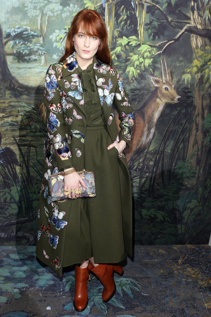 Florence Welch at Valentino