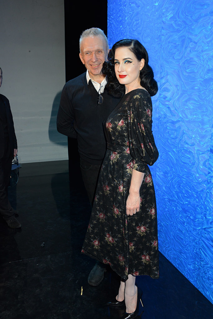 Dita Von Teese at Jean Paul Gaultier