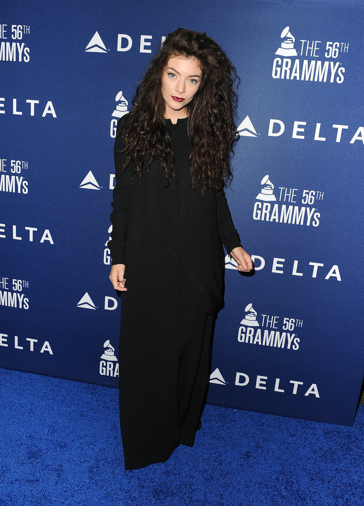 Lorde at Delta's Grammy Weekend Reception