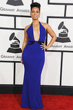 Alicia Keys at the Grammys 2014