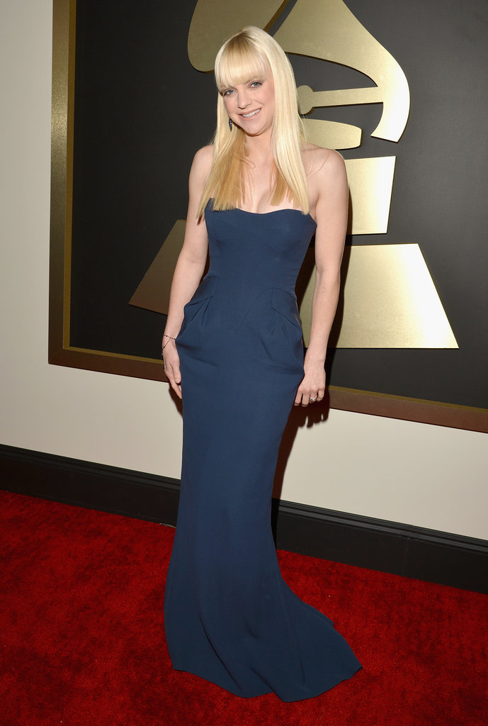 Anna Faris at the 2014 Grammy Awards.