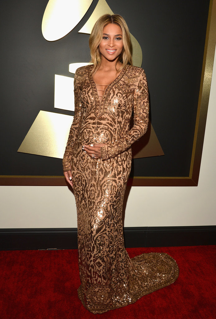 Ciara at the Grammys 2014
