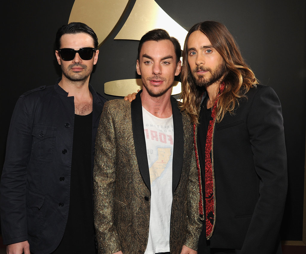 Thirty Seconds to Mars posed.