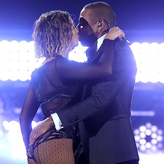 Beyonce and Jay Z at 2014 Grammy Awards