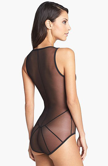 Only Hearts Club Cage Back Bodysuit ($132)