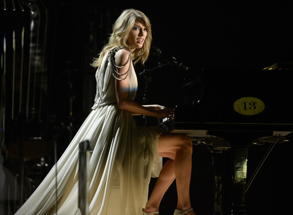 "Taylor Swift wowed with a stripped-down version of ""All Too Well."""