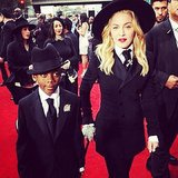 """Madonna walked the red carpet with her """"perfect date."""" Source: Instagram user madonna"""