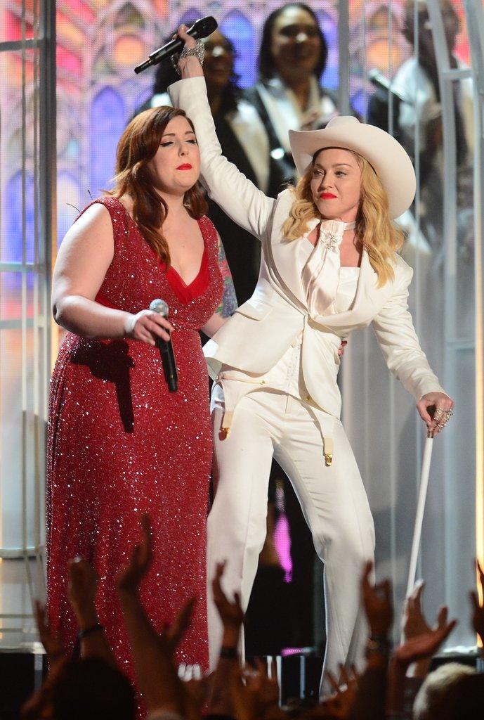 Madonna danced with Mary Lambert.