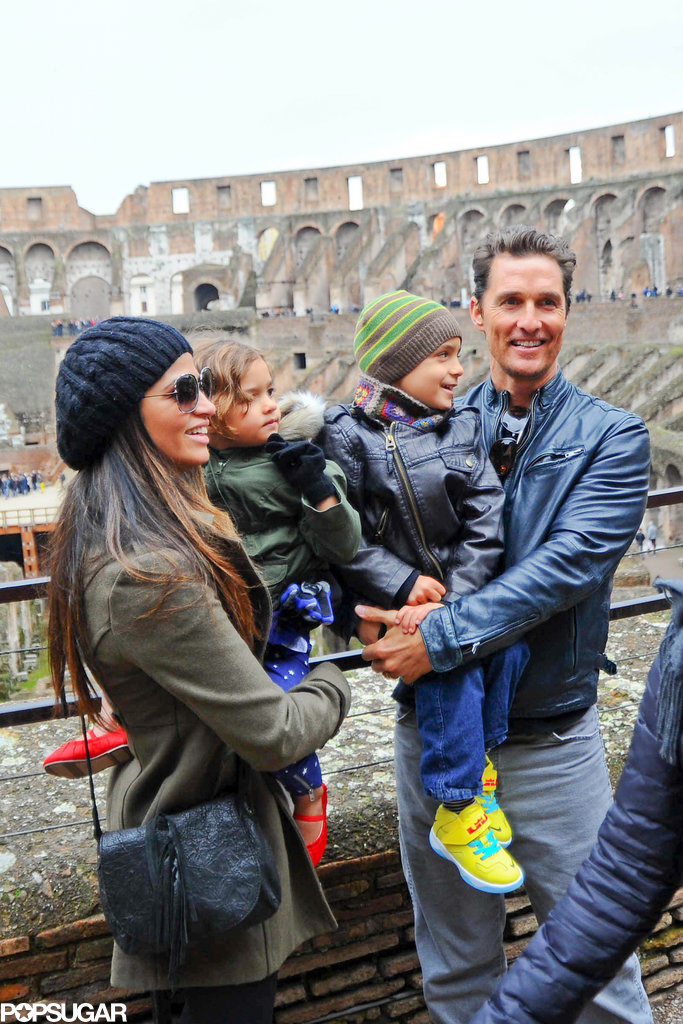Aww! Matthew McConaughey Is an Adorable, Doting Dad
