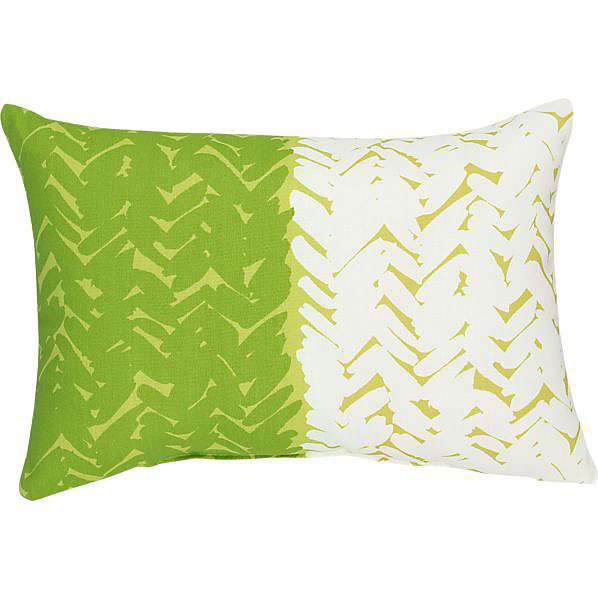 Go green with this affordable outdoor pillow ($10, originally $35).