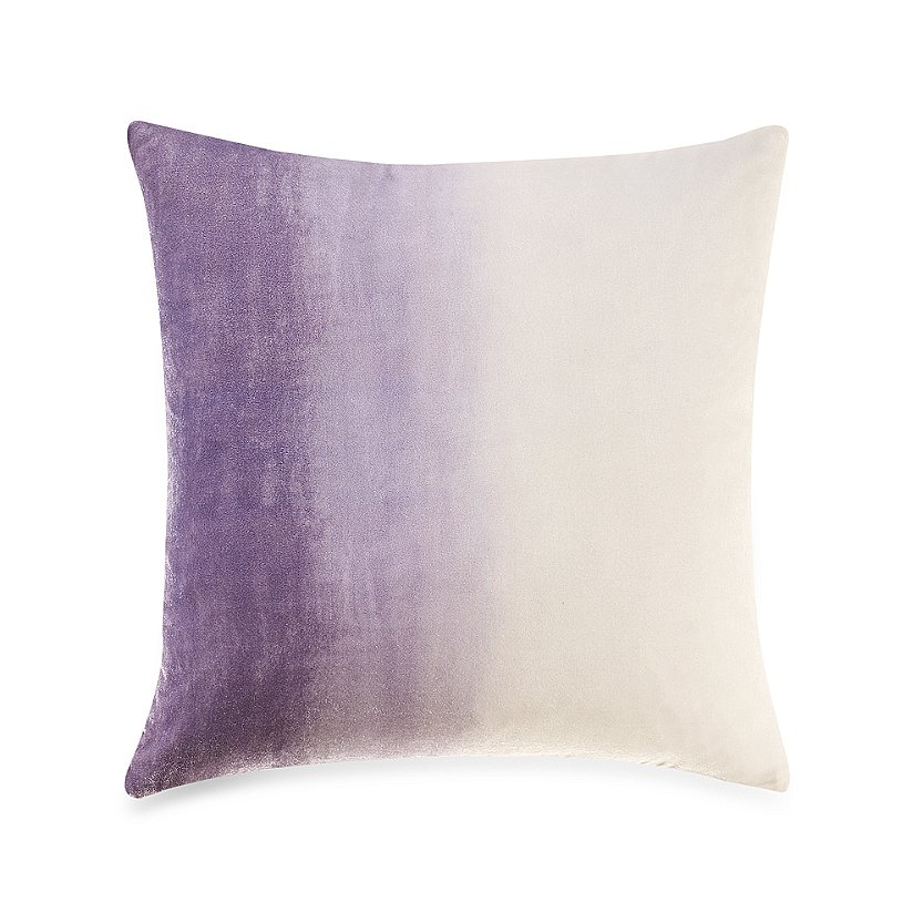 The ombre detail in this pillow ($20, originally $28) will give any room a calming vibe.
