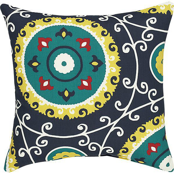 Because it is stylish enough for both indoor and outdoor use, this patterned pillow ($10, originally $40) is a steal!