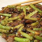 Stir-Fried Beef With Green Beans