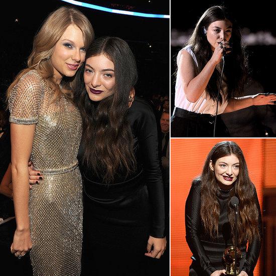 Lorde at 2014 Grammy Awards