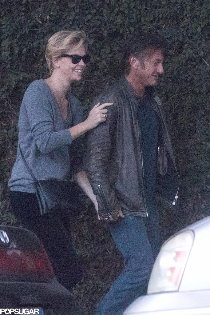 Charlize and Sean Sure Aren't Hiding Their Love Anymore