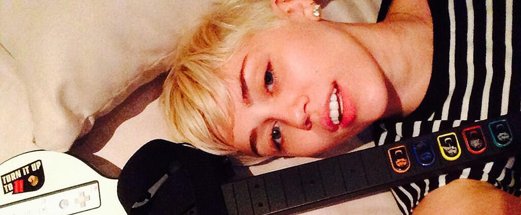 So This Is What Miley Was Doing During the Grammys